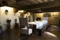 Castello di Gallico la sala da pranzo