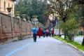 partenza da porta romana