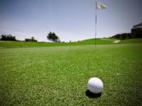 golf campo pallina