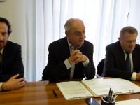 Conferenza stampa Fises 26 aprile 2016 Manuso-Bernardini-Guasconi