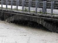 maltempo fiume livello si alza