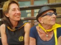Rosanna Flamini Bonelli (Rompicollo) e Chiara Flamini
