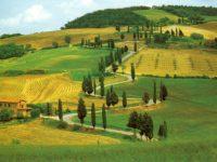 paesaggio campagna colline toscana