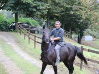 massimo coghe a cavallo