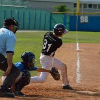Baseball Allievi Andrea Lucattelli in battuta a Vicenza