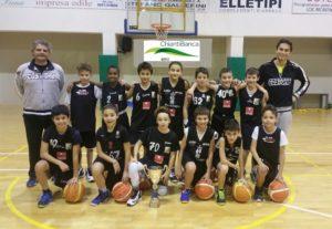 La squadra Scoiattoli 2006 allenata da Marco Collini
