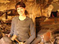 Laura Brocchi a lavoro