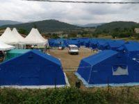 campo protezione civile norcia