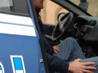 poliziotto macchina
