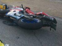 incidente moto Castellina
