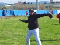 Baseball Miguel Sacchi, lanciatore partente contro i Red Jack