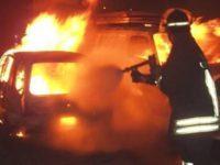 vigili del fuoco incendio-auto