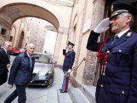 Gabrielli e Prefetto Questura Siena