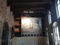 Cantiere Maestà Sala del Mappamondo