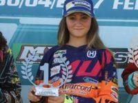 Elisa Galvano motocross