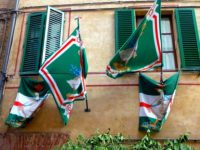 Oca bandiere finestre