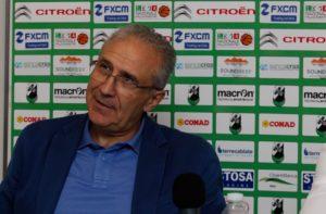 L'Amministratore Delegato della Mens Sana Basket Francesco Bertoletti