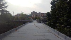 Il tetto della scuola Pieraccini