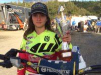 Motocross Elisa Galvagno campionessa