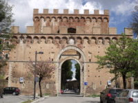 Porta Romana SienaOutside