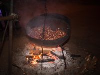 castagne in cottura