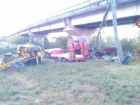 incidente camion viadotto