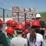 rifiuti visita bambini impianto