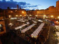 Mercato nel Campo PanoramicaPiazzaSera
