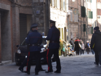 carabinieri centro storico Siena