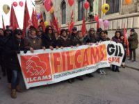Filcams Cgil sciopero