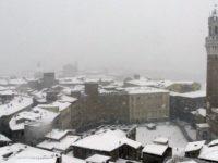 Siena, 2012.02.01 Forte nevicata a Siena. Photo © Luca Lozzi / Massimo Sestini 2012