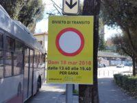 divieto transito