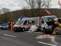 incidente furgone Siena-Bettolle