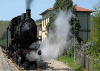 treno a vapore