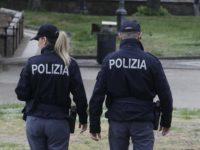 Foto Paolo Lazzeroni-Siena-: POLIZIA DI SIENA IN FORTEZZA