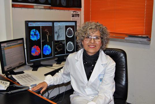 La dottoressa Sandra Bracco