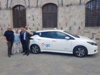 taxi elettrico Siena