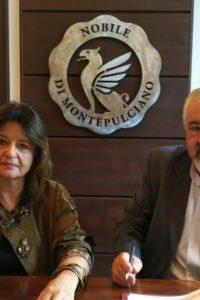 Basagni - Di Betto firma convenzione MPS