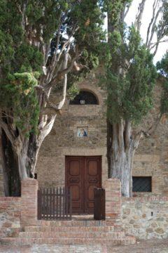 La Chiesa dell'Amorosa dove sarà celebrata la cerimonia