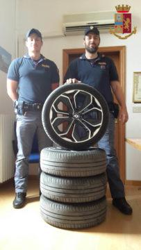 Gli pneumatici ritrovati