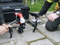 vigili del fuoco drone