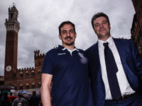 coach Juan Manuel Cichello e il Presidente Giammarco Bisogno