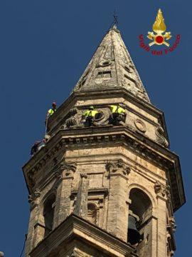 vigili fuoco campanile san biagio