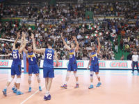 nazionale volley a Siena