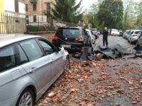 crollo tetto Via Folcacchieri