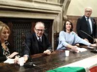Padoan a Siena