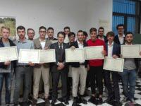 enotecnici diplomati, al centro il dirigente scolastico Tiziano Neri