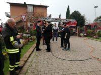 vigili del fuoco a San Rocco