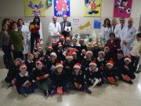 Donazione presepe scuola Arbia