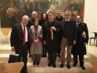 inaugurazione della mostra su Cassioli_foto1